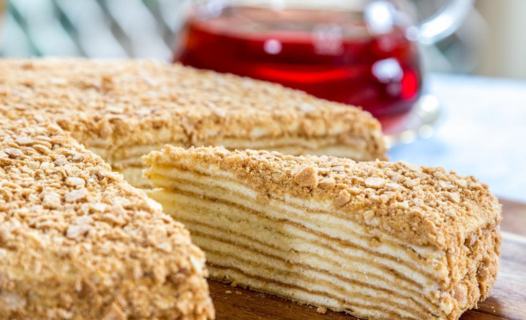ready-made cakes napoleon