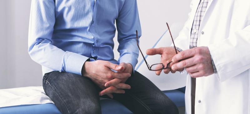консультация пациента с врачом