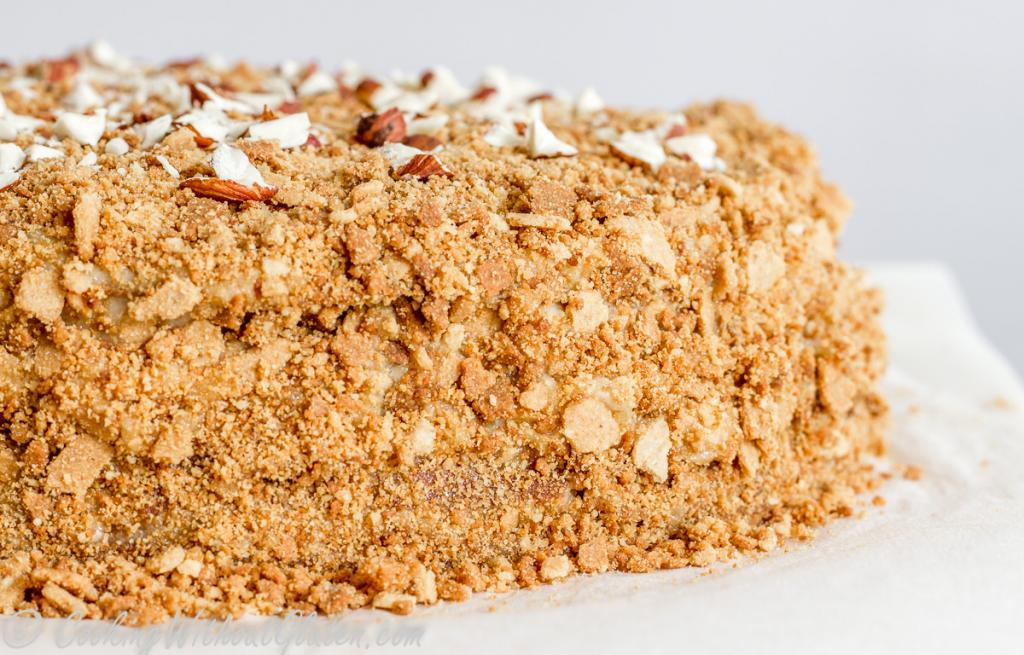 Napoleon with nuts