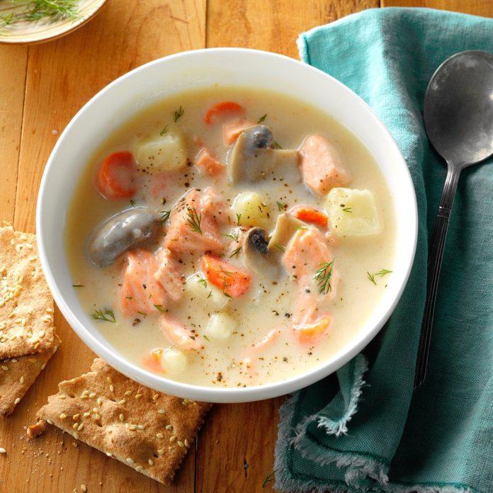 обоев девушки суп из лосося рецепт с фото русском языке