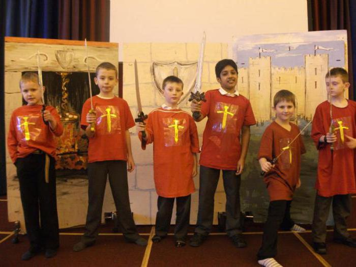 рыцарский турнир в школе 4 класс