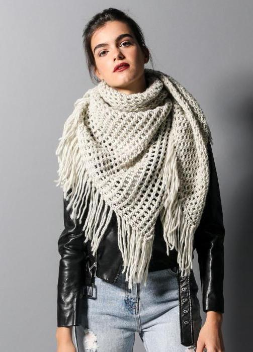 шарфы французский шик схемы