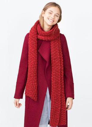 шарфы французский шик модели