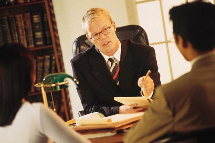 Основные виды юридических услуг
