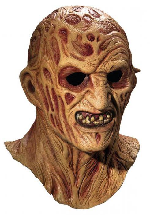 силиконовая маска фредди крюгера