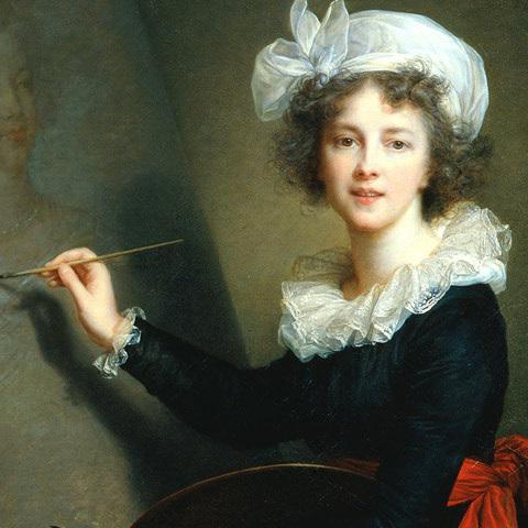 The life and work of the artist Elisabeth Vigee-Lebrun