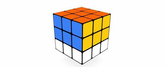 простой способ собрать кубик рубика 3х3