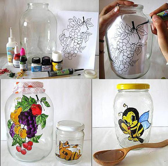 краска для стекла и керамики