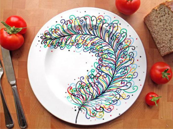 краски декола для керамики