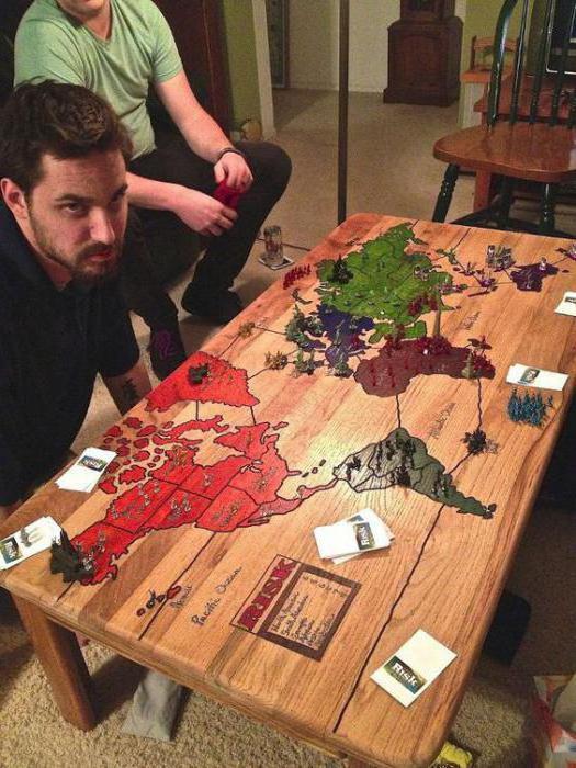 настольные игры из дерева
