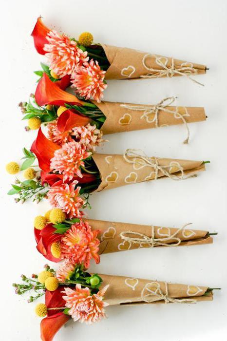 Цветы упаковать один цветок