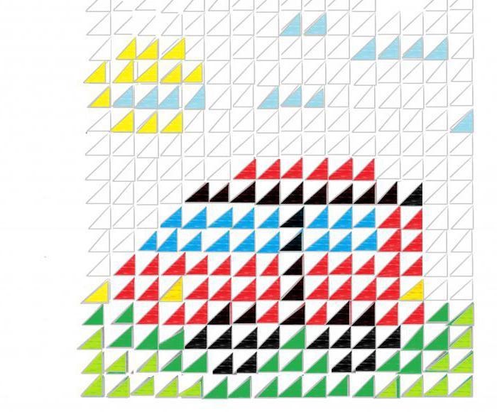 модульное оригами машина схема сборки