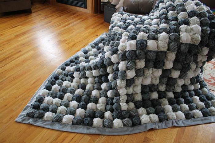 как сшить одеяло бонбонами пошаговая инструкция