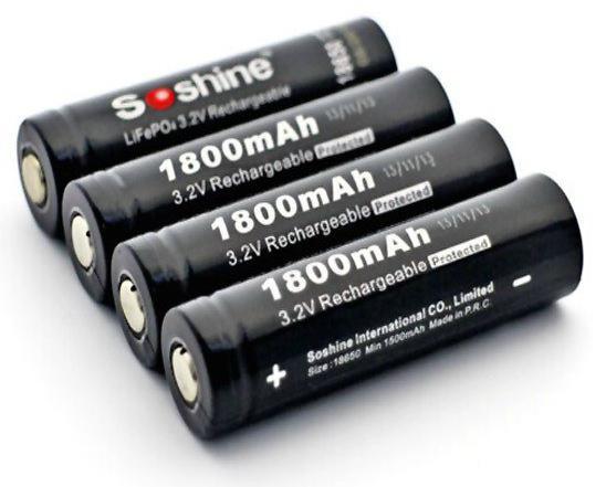 какой аккумулятор 18650 лучше для фонаря