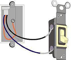 схема подключения проходного выключателя с 3х мест