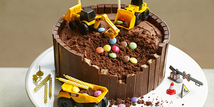 Экскаваторы в шоколаде