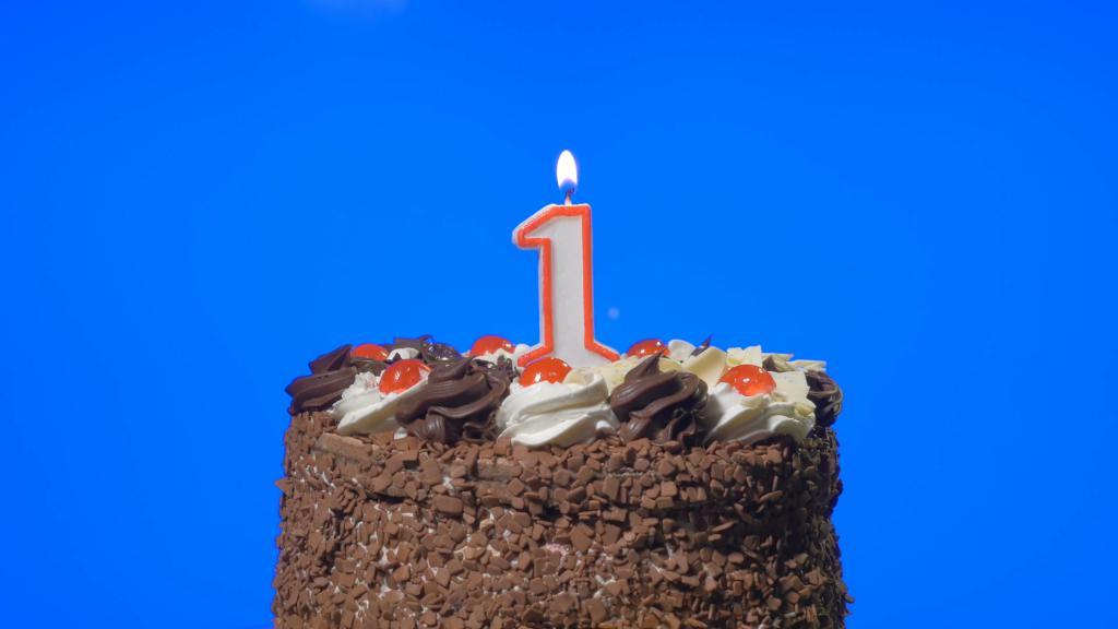 Первый торт