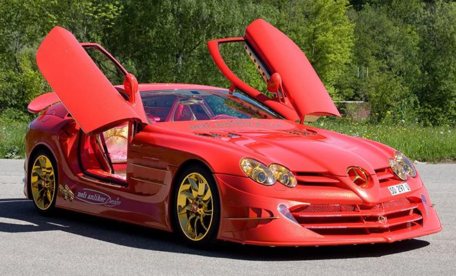 McLaren Red Gold Dream