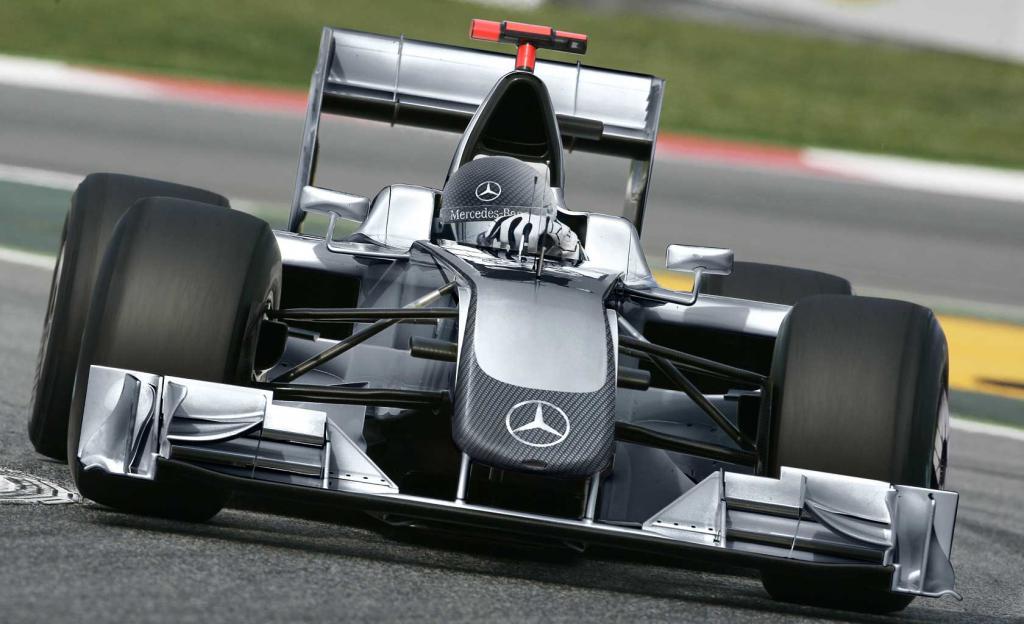 Mercedes Formula 1 Race Car