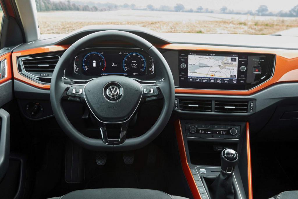 Панель управления VW Polo