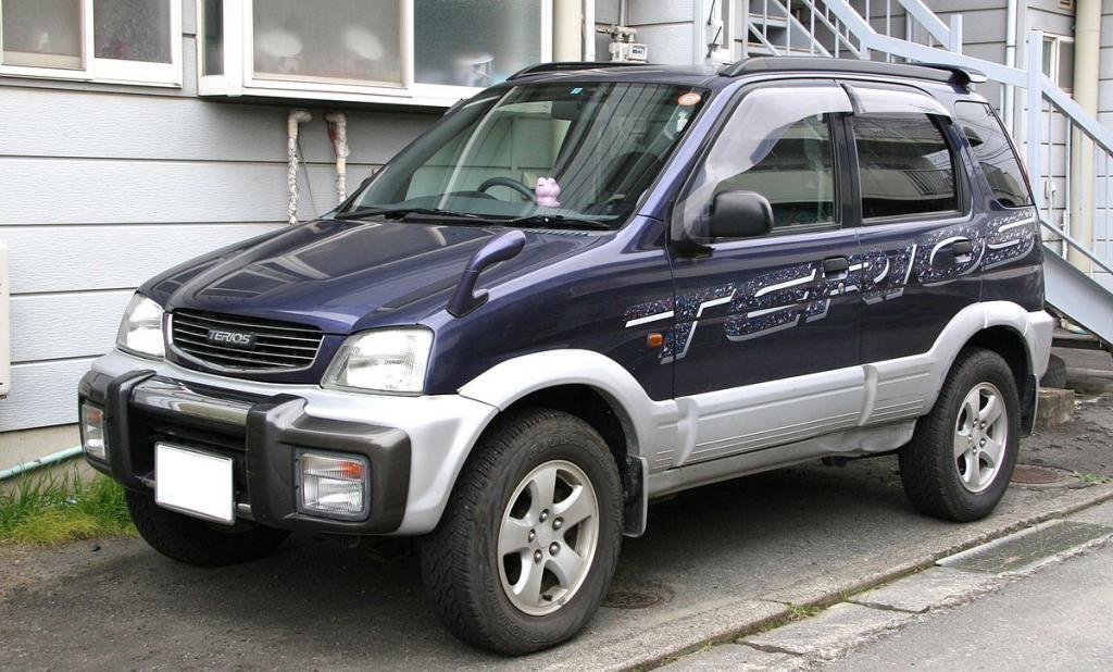 технические характеристики Daihatsu
