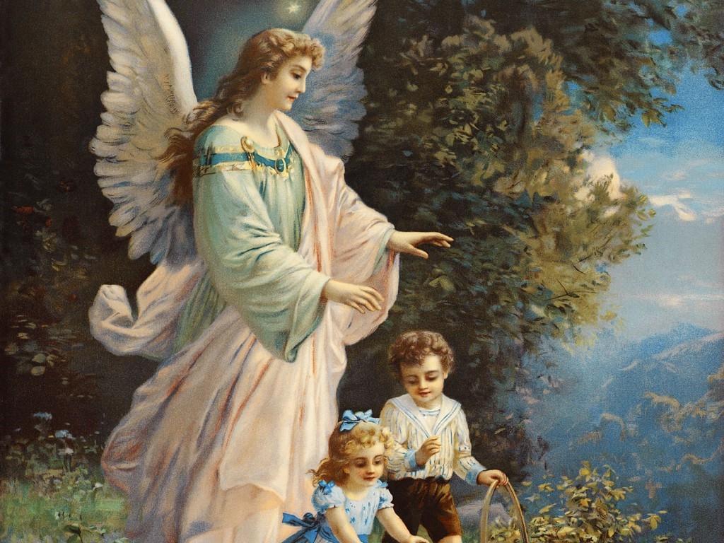Ангелы хранит ели картинки