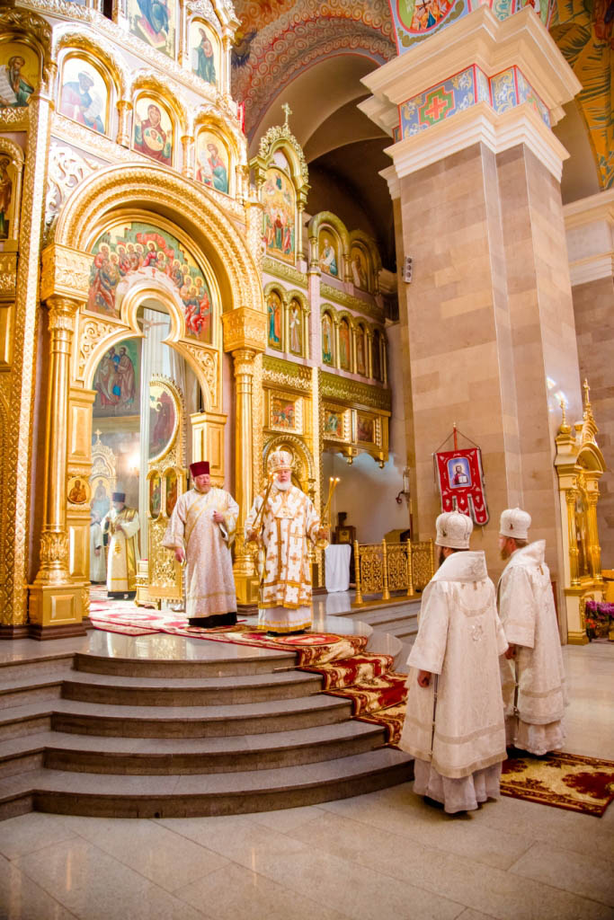Liturgy in the Cathedral of Cyril and Methodius of Samara