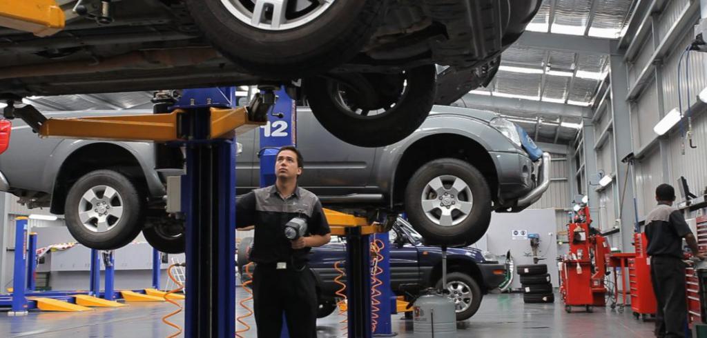 Сервис по ремонту машин
