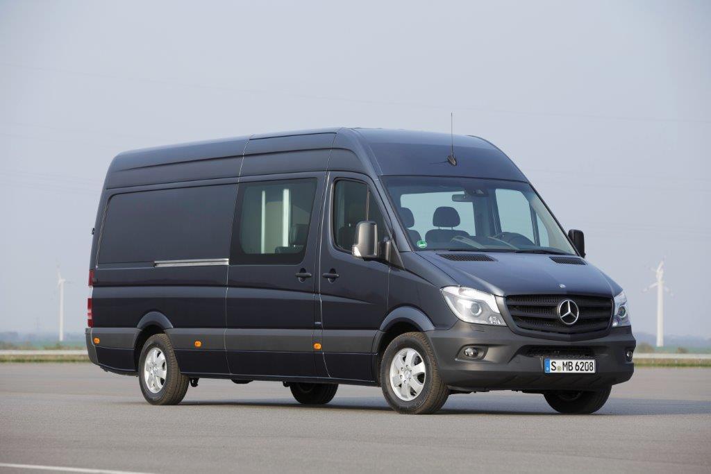 Mercedes Sprinter Van review