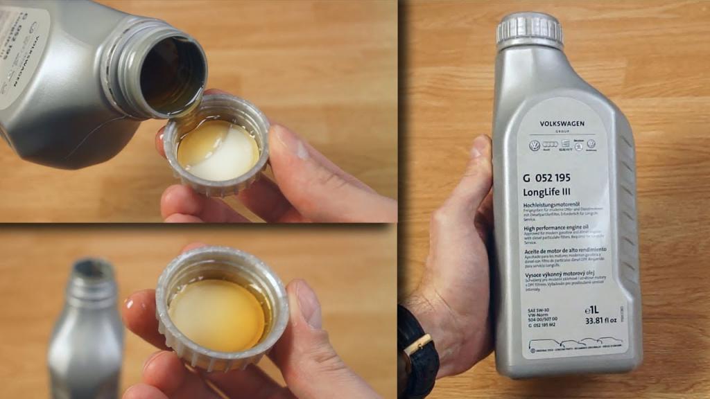 Оригинальное масло на «Фольксваген»