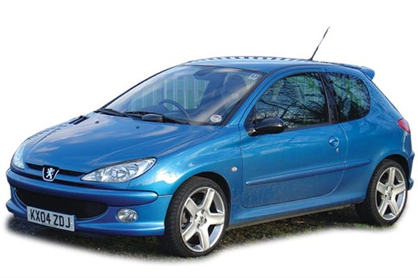 Автомобиль Peugeot 206 2008