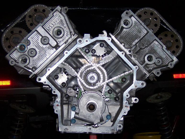 Масляная система двигателя