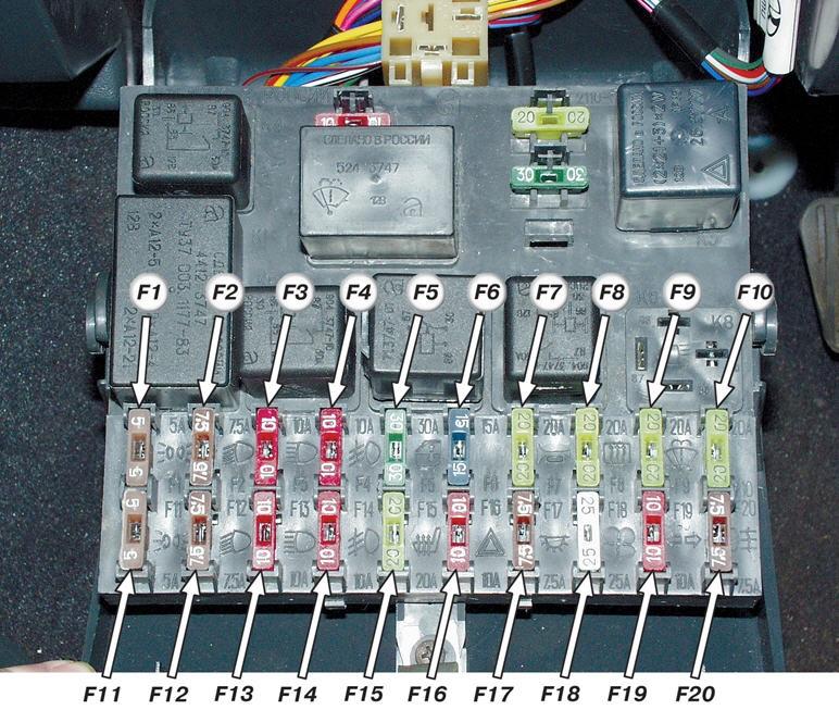 Схема подключение проводки ПТФ