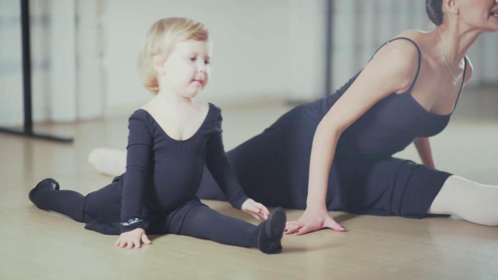 как сесть на шпагат ребенку