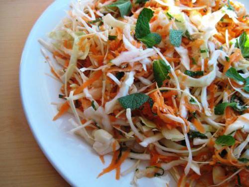 Названия салатов из овощей