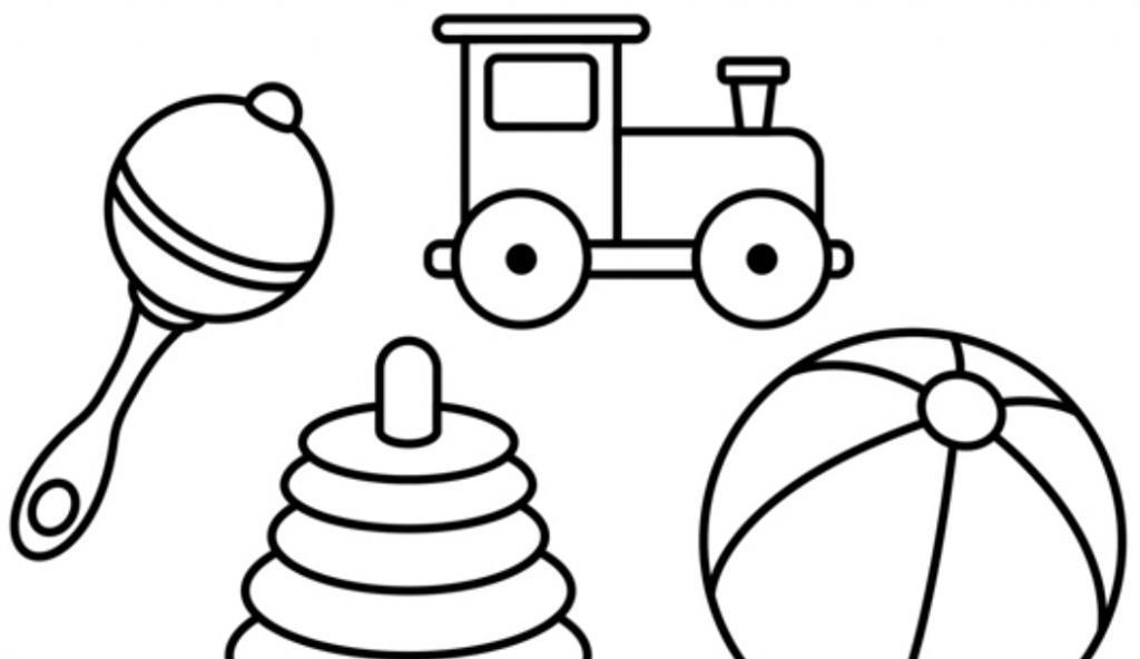 Картинка карандашом игрушки