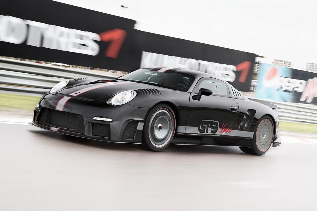 спорткар porsche 911gt vmax 9ff