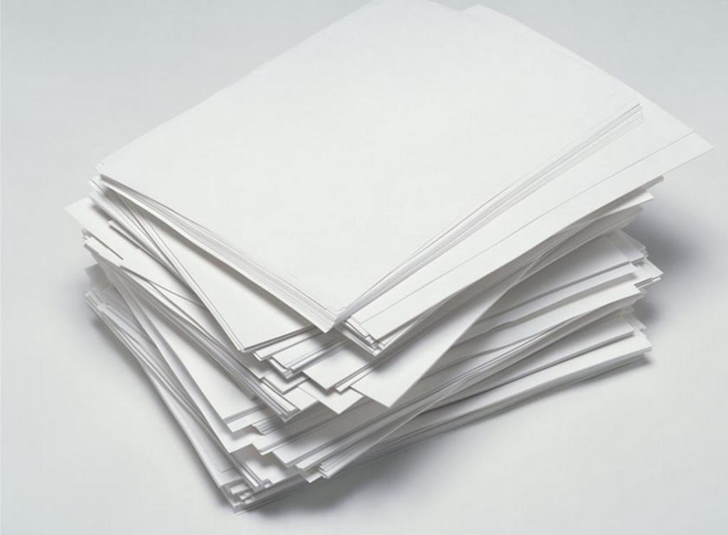 некачественная бумага
