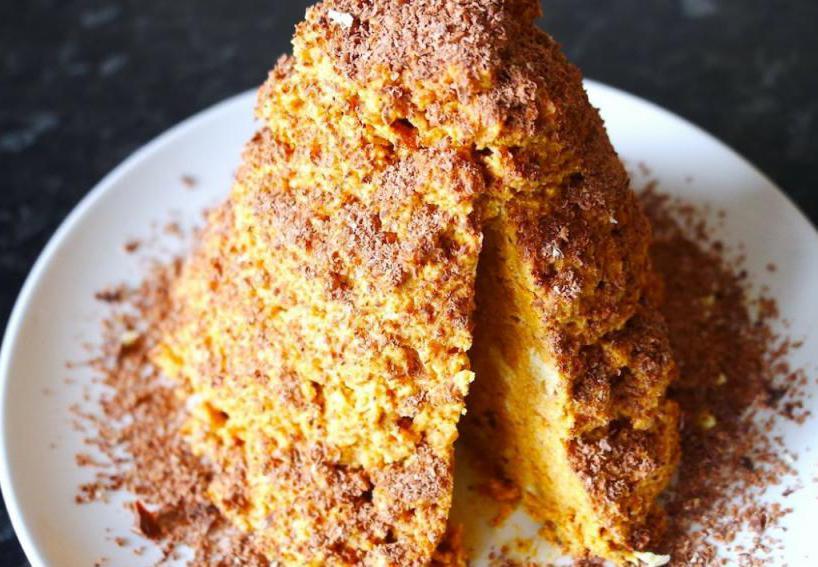 Песочный торт со сгущенкой рецепты в домашних условиях