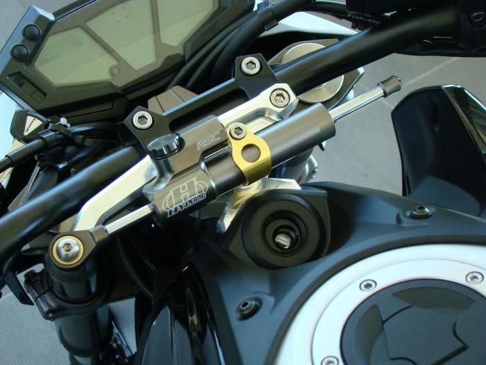 крепление руля мотоцикла