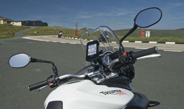держатель на руль мотоцикла