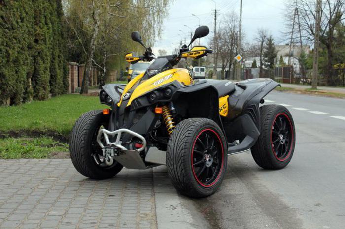 Квадроциклы BRP Renegade 1000