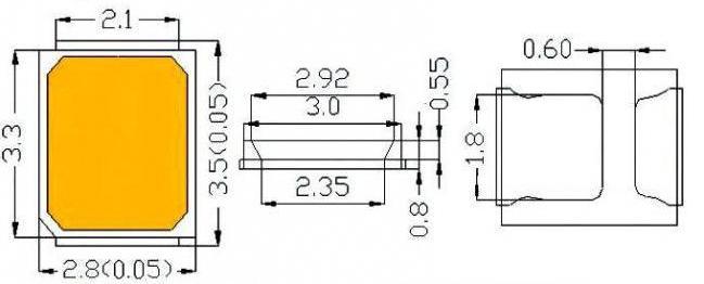 светодиод 2835 характеристики