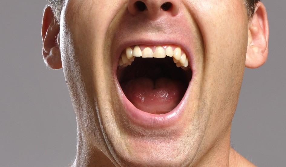 Открывал рот и превращался