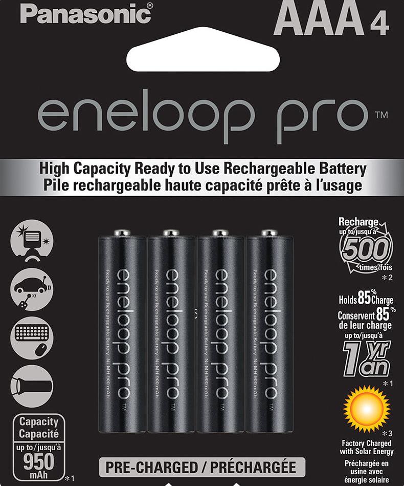 Panasonic Eneloop Pro ААА