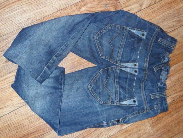 Как из старых джинсов сшить джинсы ребенку из старых джинс фото 3