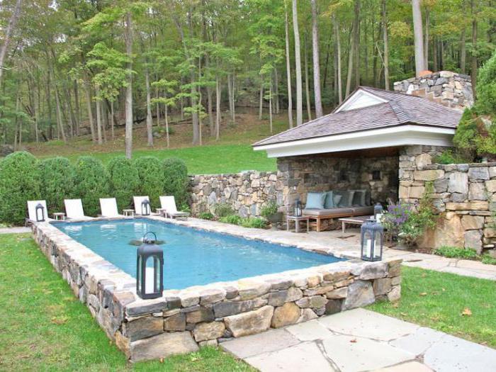 проекты бассейнов для загородного дома