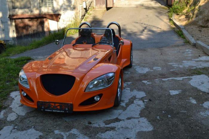 Чешский легковой автомобиль