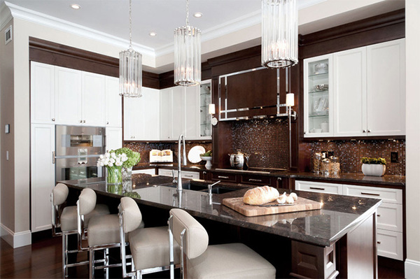 Art Deco Kitchen Interior