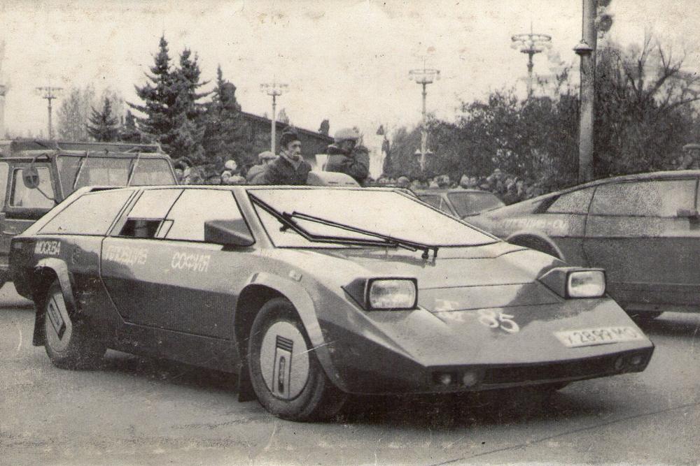Самодельный автомобиль «Панголина»